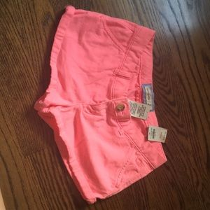 NWT Abercrombie kids bright pink shorts